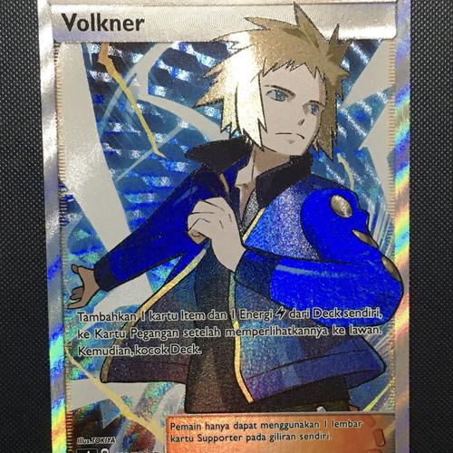 Foto Produk Kartu Pokemon Volkner Full Art - Pokemon TGC dari Melody Shop