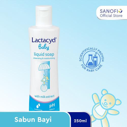Foto Produk Lactacyd Baby Sabun Bayi 250ml – Melindungi Kulit Bayi dari Iritasi dari Sanofi Official Store