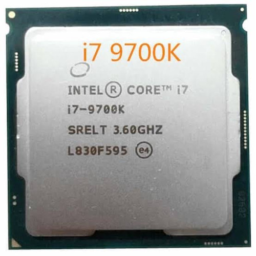 Foto Produk PROCESSOR INTEL CORE I7 9700K TRAY LGA 1151 dari iconcomp
