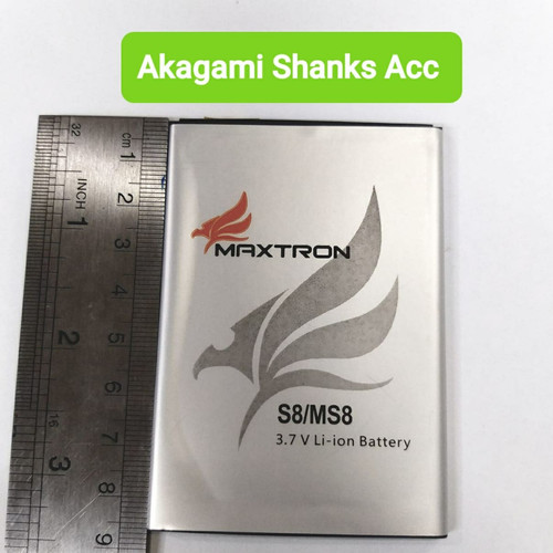 Foto Produk Batre / Batrai / Battery / Baterai Maxtron S8 dari AkagamiShanks40