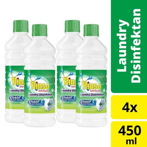 Foto Produk Rinso Laundry Disinfektan 450Ml isi 4 dari Unilever Official Store