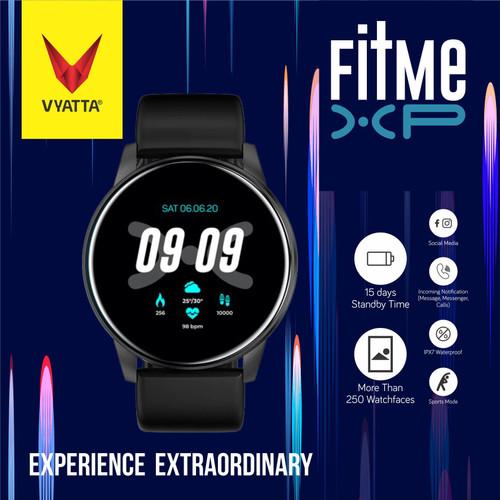 Foto Produk VYATTA Fitme XP Smartwatch - Custom Watch Face, Full Touch, IPX7 - Midnight Black dari VYATTA INDONESIA