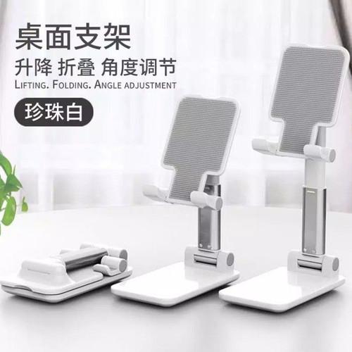Foto Produk Phone Holder Tempat Dudukan HP Lipat Folding Desktop HP dari SmartClick