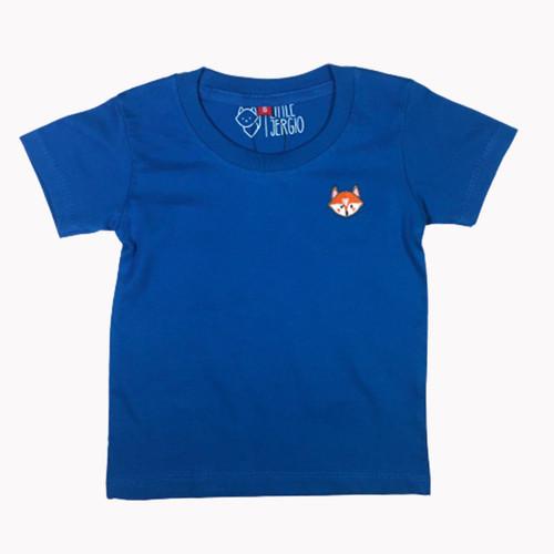 Foto Produk Kaos Polos Anak - Anak Steel Blue Usia 1-9T| B004 by Little Jergio - M 2-3Y dari Little Jergio