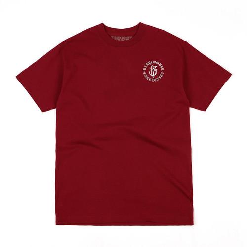 Foto Produk BABY ZOMBIE - Tshirt Saxon Maroon - M dari Baby Zombie Co.
