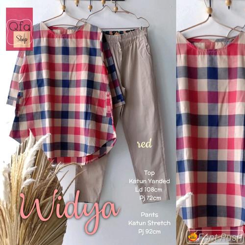 Foto Produk New Widya Set Setelan Celana Wanita Baju Kerja Modis Cantik Murah dari Ilyassa Shop