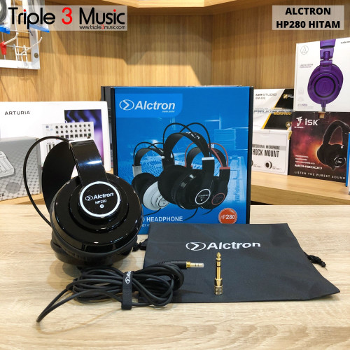 Foto Produk Alctron HP280 HP 280 Headphone Flat monitor - hitam putih dari triple3music