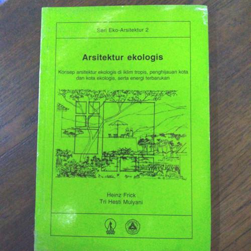 Foto Produk Buku Arsitektur Ekologis dari Toko Buku PratamaLks