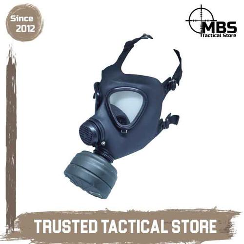 Foto Produk Gas Mask M65 Masker Gas Germany Gas Masker Safety Mask Filter Korea dari MBS Tactical Store