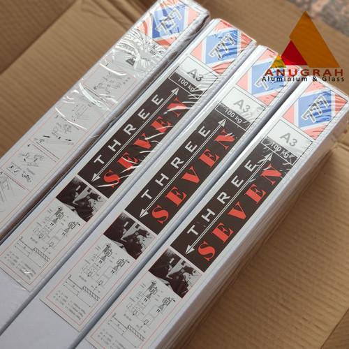 Foto Produk Rel Pintu Sliding / Rel Pintu Geser A3 J3 Merk 777 dari AnugrahAluminium