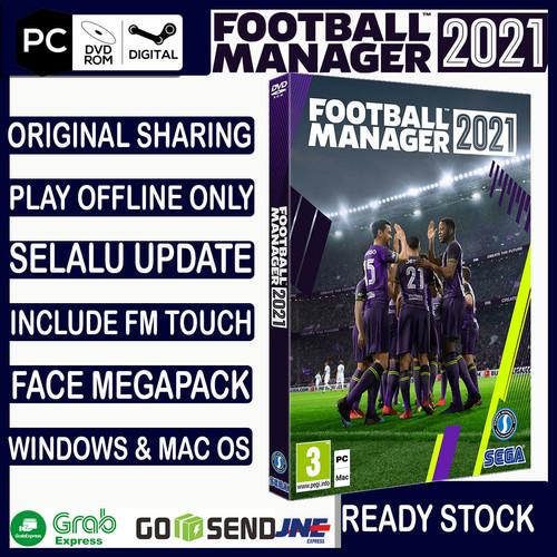 Foto Produk FOOTBALL MANAGER 2021 STEAM PC ORIGINAL / FM 2021 / FM 21 PC - DVD 5 GB dari Toko Haji Naim