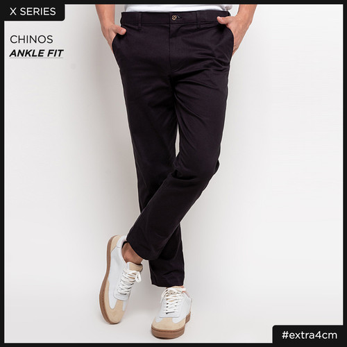 Foto Produk CELANA PANJANG CHINO PRIA SMITH BERLIN EXTENDER ANKLE BLACK - 29 dari Smith Berlin