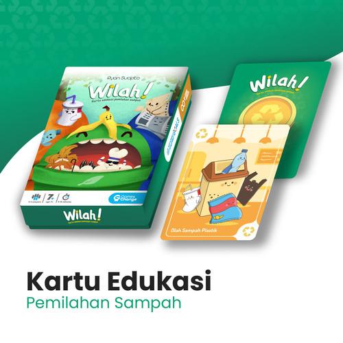 Foto Produk Wilah - Kartu Edukasi Pemilahan Sampah dari game4changeID