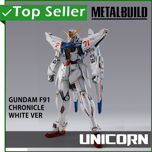 Foto Produk METAL BUILD GUNDAM F91 CHRONICLE WHITE VER / BANDAI dari Unicorn Toys