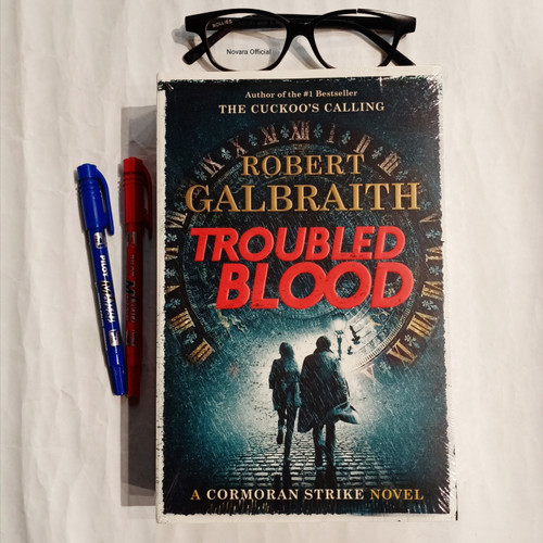 Foto Produk The Troubled Blood - Robert Galbraith dari Novara Official