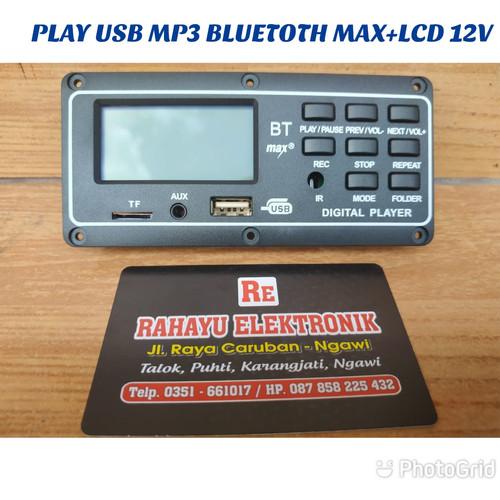 Foto Produk KIT MODUL MP3 PLUS BLUETOOTH MAX + LCD 12V dari Rahayu Elektro dan Sound