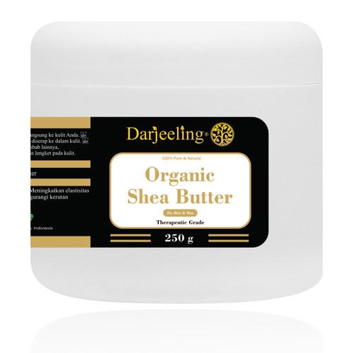 Foto Produk 250g Organic Unrefined Shea Butter dari Darjeeling Store