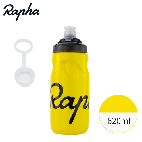Foto Produk Botol/Bidon Minum Sepeda Rapha Original BPA Free - Kuning Kecil dari MarveloStore