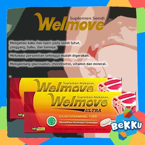 Foto Produk Welmove ULTRA Suplemen Makanan Isi 5 Kaplet / Kesehatan Sendi / beKKu dari tokobekku