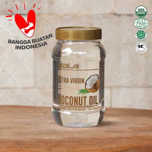 Foto Produk Virgin Coconut Oil Mezzaluna 485ml EVCO Minyak Kelapa Murni VCO - 485ml dari Arcee