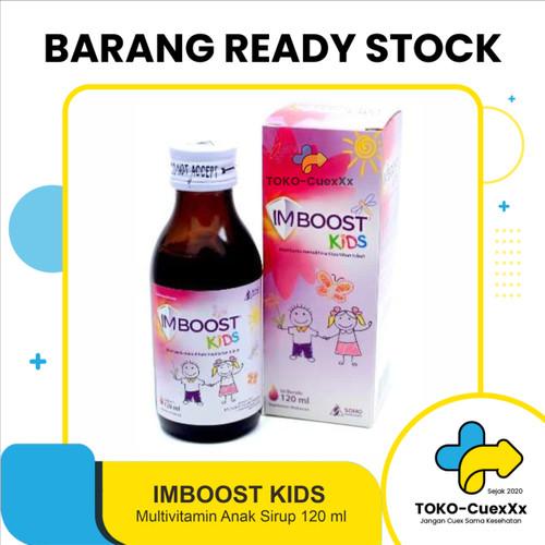Foto Produk Imboost Kids syrup 120ml dari TOKO-CuexXx