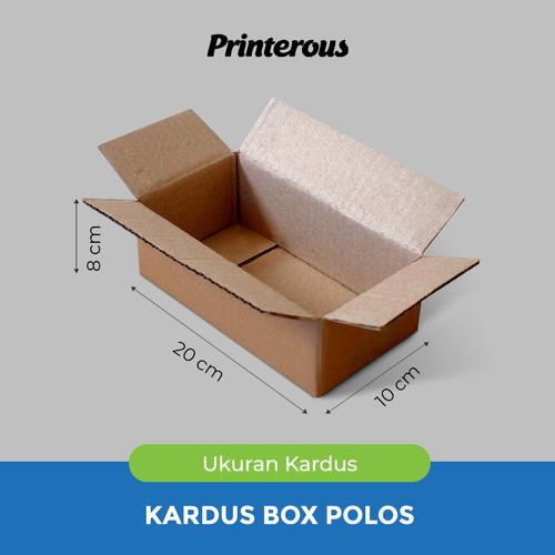 Foto Produk Corrugated Box - Kardus Box Polos 20x10x8 cm dari Printerous