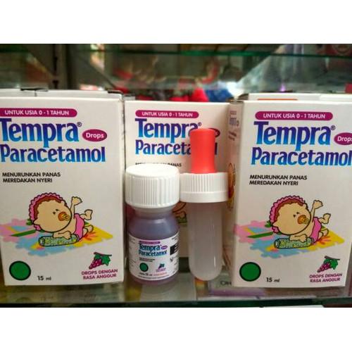 Foto Produk Tempra Drop 15 ML - Obat Demam, Sakit Kepala, Flu untuk Bayi dari Plaza Medika