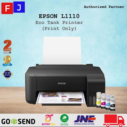 Foto Produk Printer Epson L1110 EcoTank pengganti Epson L310 print only L 1110 dari S.M.F.J