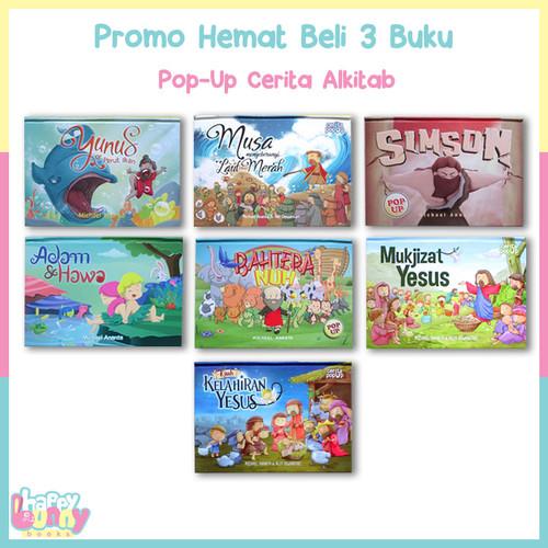 Foto Produk BELI 3 BUKU Pop-Up Cerita Alkitab KEATAS HARGA SUPER HEMAT dari HappyBunnyBooks