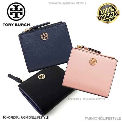 Foto Produk Tory Buch Robinson Mini Wallet - Tory Burch Original 100% Authentic - Black dari Fashion&LifeStyle