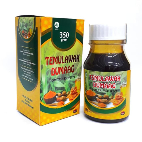 Foto Produk TEMULAWAK DUMAAG madu temulawak KHARISMA FOOD dari Best Seller Herba
