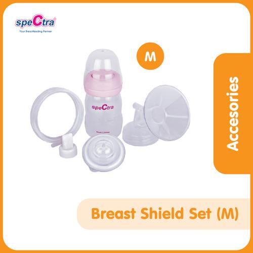 Foto Produk Breast Shield (Corong) Set 28mm Size M + PP Bottle dari Spectra Baby Indonesia