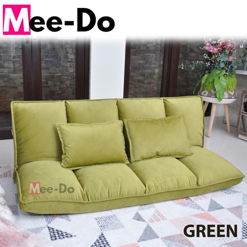 Foto Produk Mee-Do Sofa Bed / Lipat / Kursi / Lesehan / Santai / Portable / Malas - Hijau dari Expert mattress
