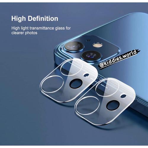 Foto Produk CLEAR FULL CAMERA LENS PROTECTOR Iphone 12 Mini / 12/12 Pro/ 12 Promax - 12 Mini dari Kiddies World