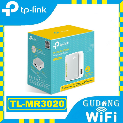 Foto Produk TP-Link TL-MR3020 150Mbps Portable 3G/4G Wireless N Router dari GudangWifi