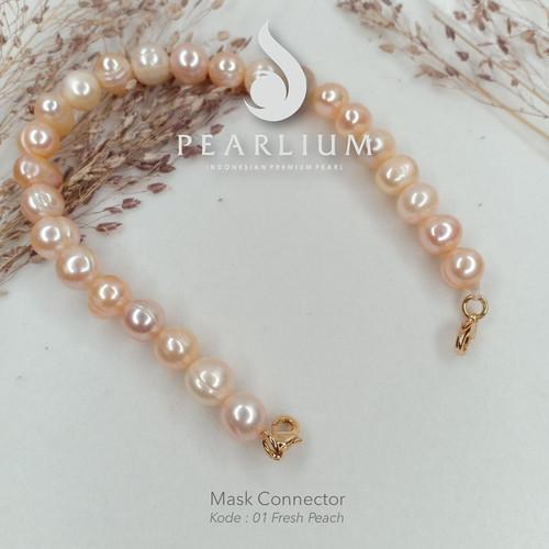 Foto Produk Connector Masker Peach 01 dari Pearlium - Mutiara Lombok Premium