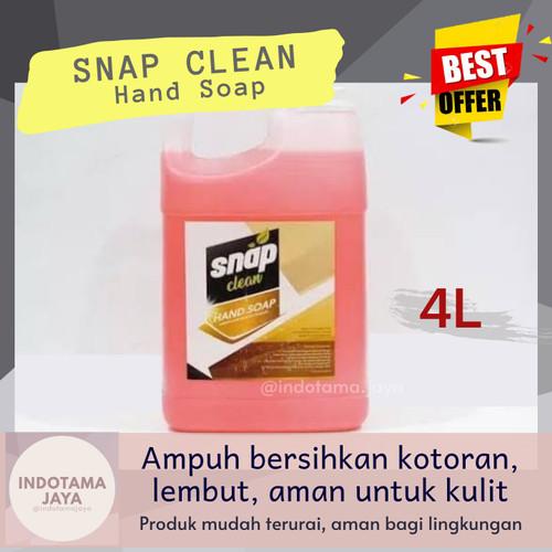 Foto Produk (Indotama) SNAP CLEAN Hand Soap Sabun Pencuci Tangan [4L] dari Indotama Jaya