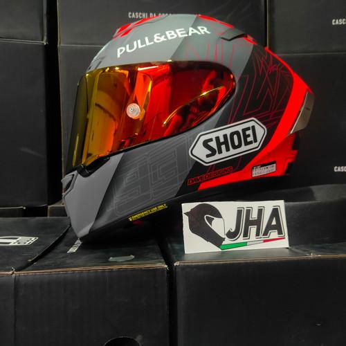 Foto Produk Shoei XSpirit3 Marquez Black Concept 2.0 - Made in Japan 🇯🇵 dari Jual Helm AGV