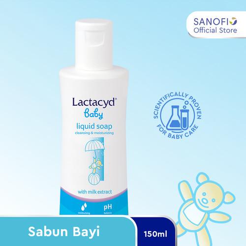 Foto Produk Lactacyd Baby Sabun Bayi 150ml – Melindungi Kulit Bayi dari Iritasi dari Sanofi Official Store