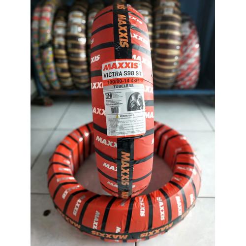 Foto Produk BAN MOTOR MATIC RING 14 MAXXIS VICTRA 100/80-14 TUBELESS dari MotoQ