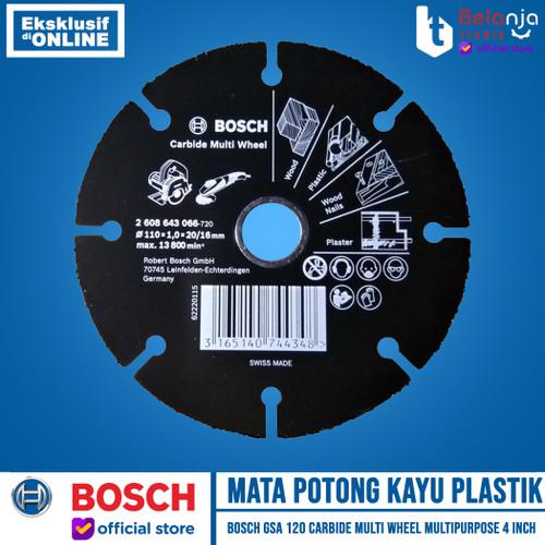 Foto Produk Bosch Mata Potong Kayu Plastik Carbide Multi Wheel Multipurpose 4 Inch dari Belanja Teknik