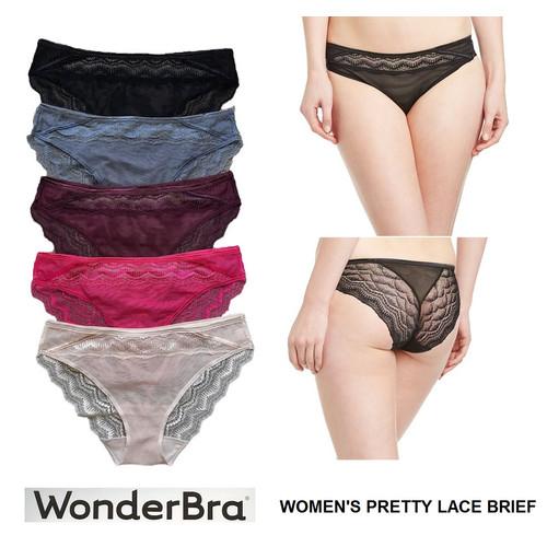Foto Produk Panty Wonderbra W01O5 Women's Pretty Lace Brief available 5 colors dari Underwear branded