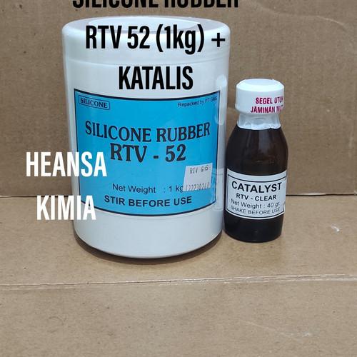 Foto Produk Silicone Silicon Rubber RTV 52 + katalis (1kg) - BENING dari HEANSA KIMIA