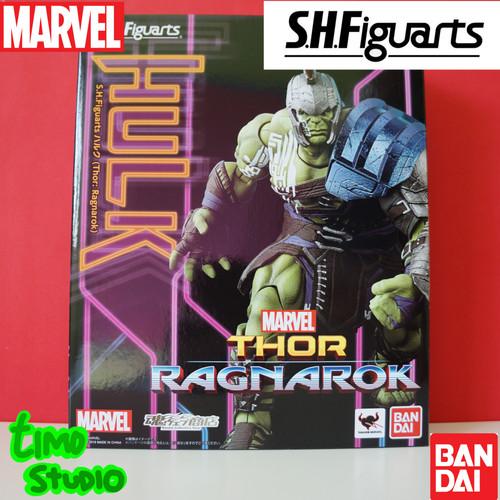 Foto Produk Bandai SHF S.H.Figuarts Thor Ragnarok Hulk dari TimoStudio