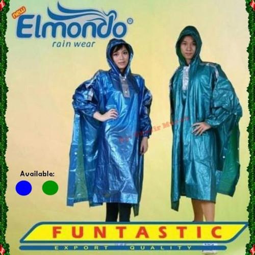Foto Produk Jas hujan ponco lengan Elmondo Funtastic 703 kalong dari BBTronik