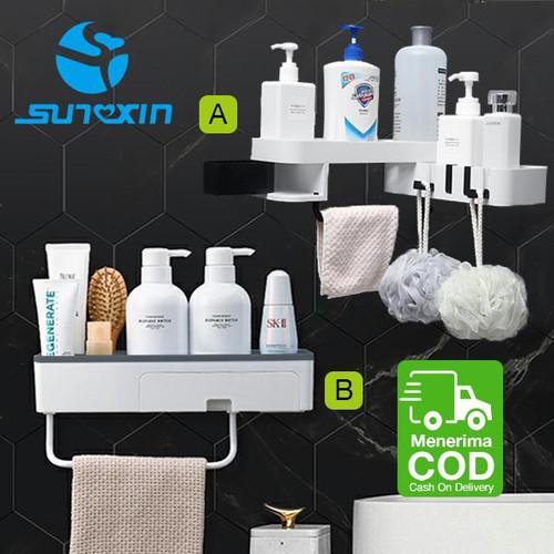 Foto Produk Rak Sabun Shampoo Rak Toilet Kamar Mandi Rak Tempel Dinding Sudut Rak dari SUNXIN