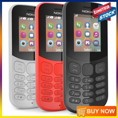 Foto Produk nokia 130 rm 1035 dual sim nokia resmi nokia jadul - Putih, no charger dari jitu ponsel