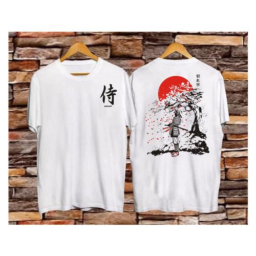 Foto Produk kaos distro samurai japan - XL, Putih dari mitra distro