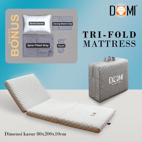 Foto Produk Domi Trifold Mattress 80 x 200 cm - Kasur Busa Lipat Tiga dari Domi Bed