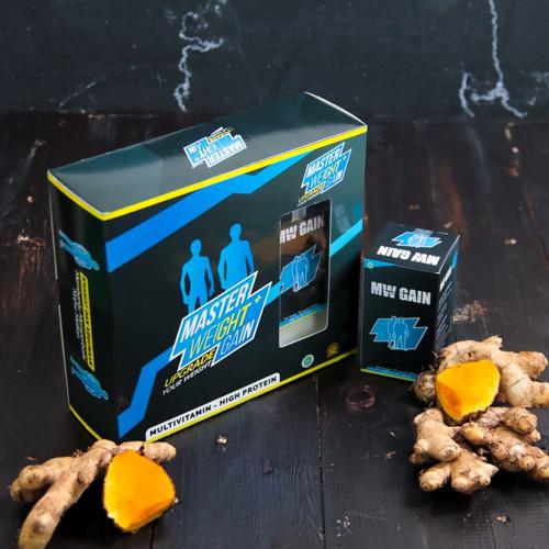 Foto Produk Master Weight Gain [ Paket Extra Strong ]Penggemuk Badan Terbaik dari Official Master Weight